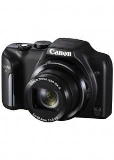Reducere pret aparat foto Canon Powerhsot SX170 negru