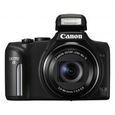 Reducere aparat foto Canon PowerShot SX170 IS Black 16MP