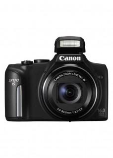 Reducere aparat foto Canon PowerShot SX170 IS Black 16MP