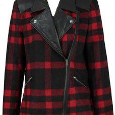 Reducere jacheta dama carouri de la Pimkie