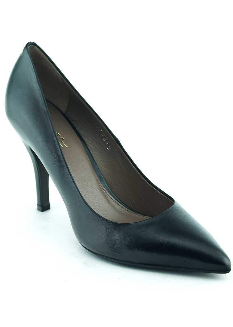 Pantofi dama piele naturala, toc 9.5cm