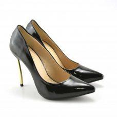 Pantofi dama negri toc 11cm Dey la reducere