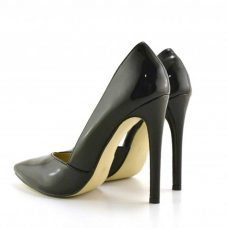 Pantofi casual dama negri toc 11cm Clara