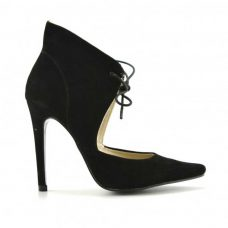 Pantofi negri dama toc 11cm Fero