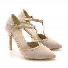 Sandale bej dama, Borum, ReduceriOferte.com
