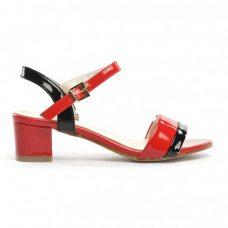 Sandale dama rosii Decona