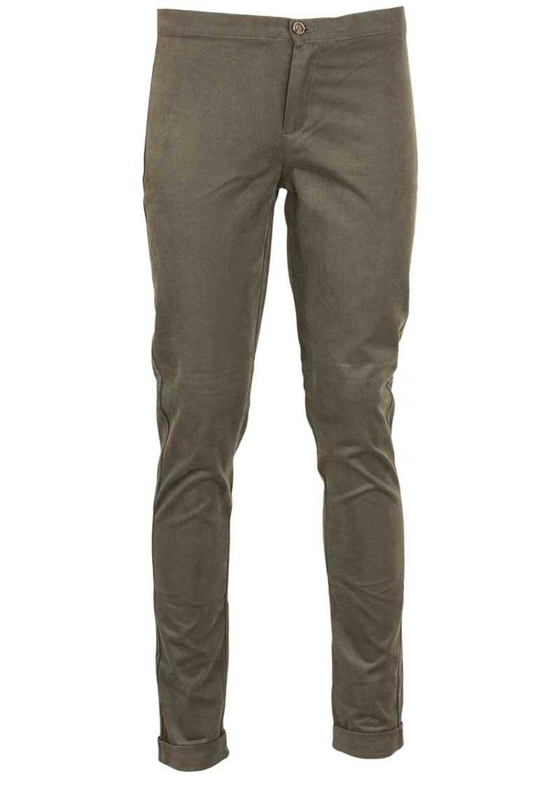 Pantaloni dama Zara verde inchis